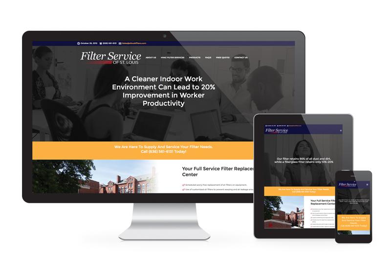 Filter Service Website