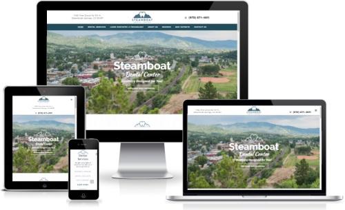Steamboat Dental Center Website Design